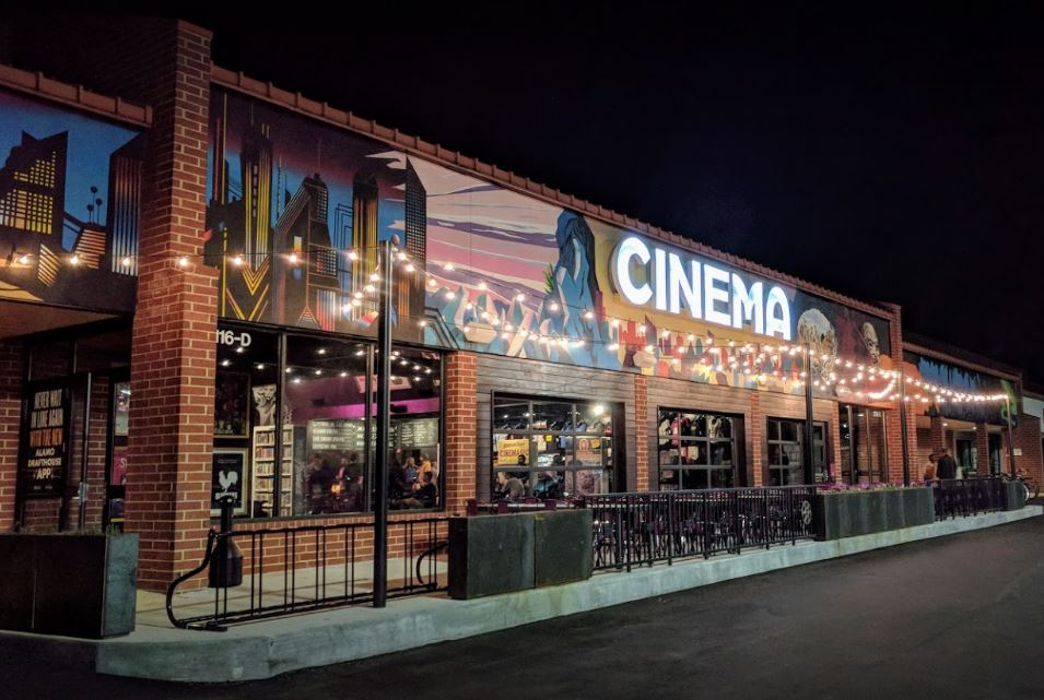 Front of the Alamo Drafthouse